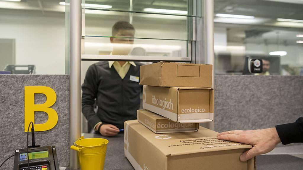 Post erhöht Preise für Pakete und Briefe nicht
