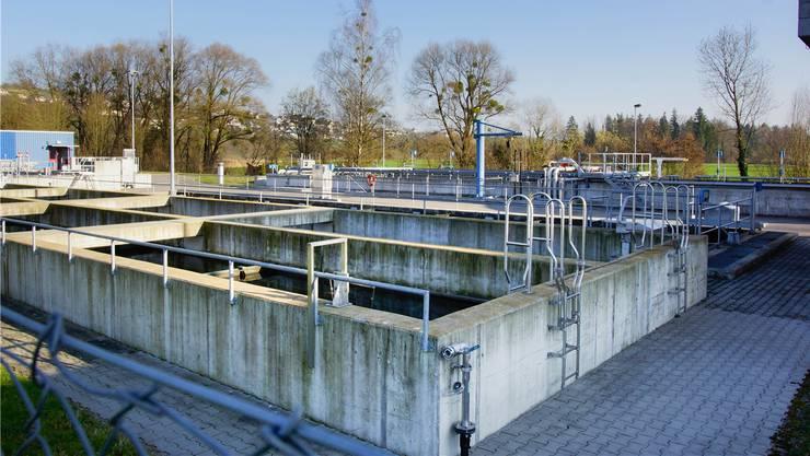 Im Jahr 2017 über 2 Millionen Kubikmeter Abwasser gereinigt: Kellerämter Kläranlage in Unterlunkhofen.