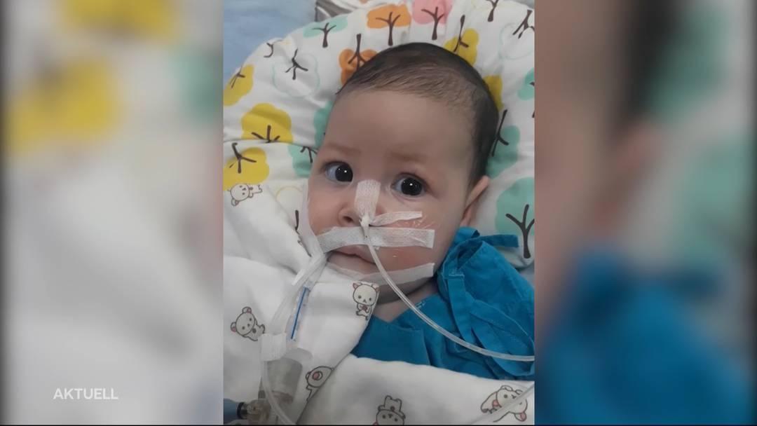 Spenden gesucht: Vater will krankes Kind in die Schweiz holen