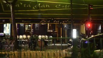 Das Bataclan Café und Konzertlokal, wo sich am 13. November 2015 einer der Terroranschläge ereignet hatte.