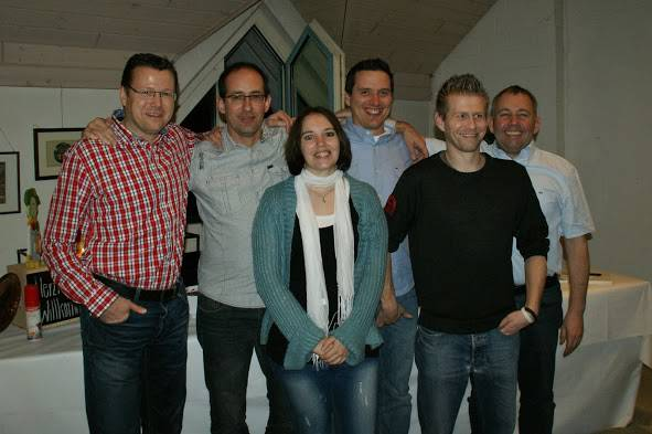 Rolf Wolfensberger, Reto Egolf, Sabrina Siegenthaler, Andreas Oberle, Christian Zbinden, Urs Häfliger