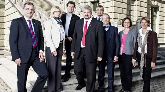 Der Winterthurer Stadtrat.