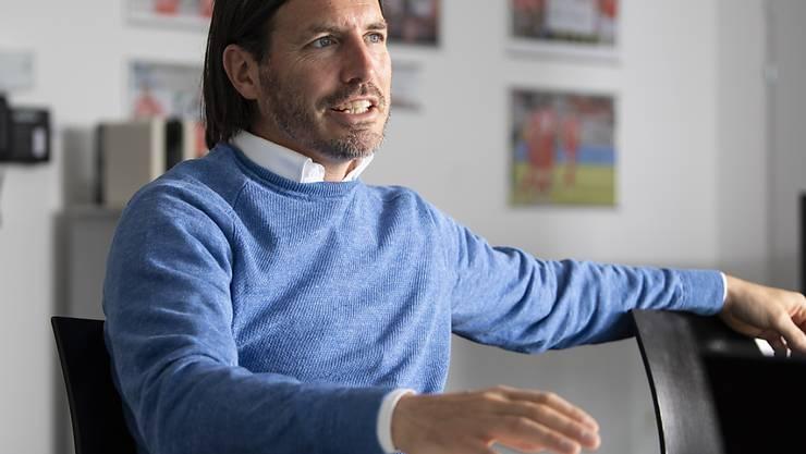Thuns Sportchef Andres Gerber ist sich den Umgang mit Ungewissheit erprobt, daraus schöpft er in der Coronakrise Kraft und Selbstvertrauen