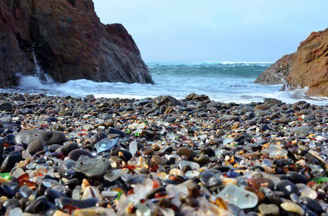 Glass Beach, Kalifornien, USA