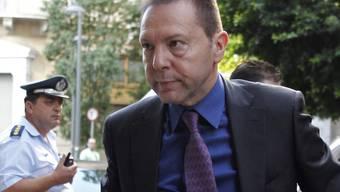 Der griechische Finanzminister Yannis Stournaras (Archiv)