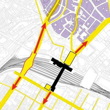 Die Margarethenbrücke soll beim Margarethenplatz verbreitert werden.