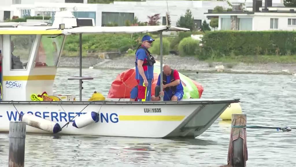 SLRG Luzern sammelt Geld für neues Rettungsboot