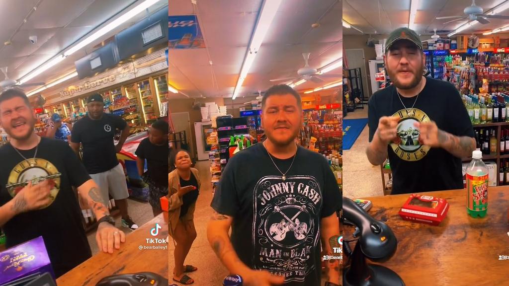 Mann singt an Tankstelle und wird über Nacht berühmt
