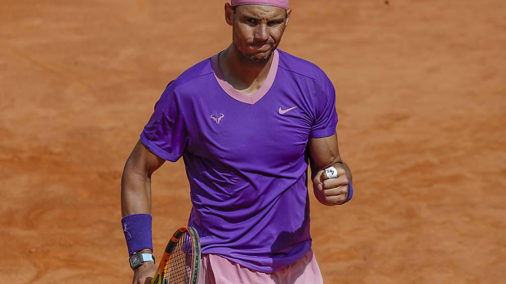Nadal nach abgewehrten Matchbällen weiter - Thiem ausgeschieden