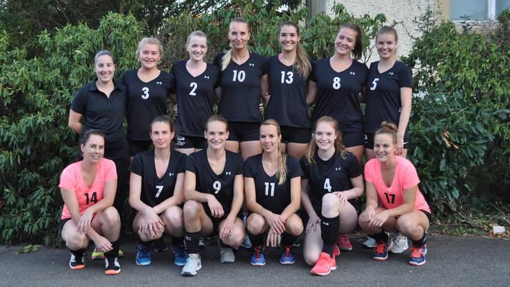 Das 1. Liga Damen Volleyball Team vom TV Grenchen