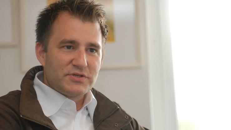Mitorganisator Sascha Ruefer. om
