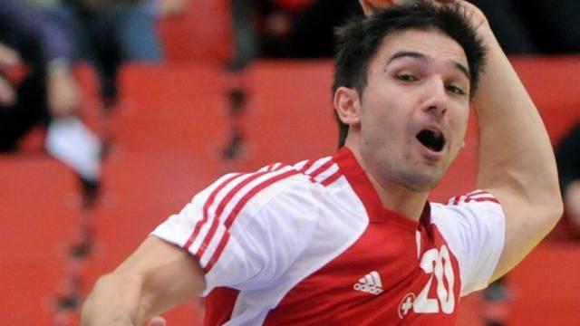 Marko Vukelic neunfacher Torschütze für die Schweiz.