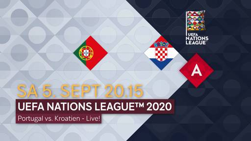 Fussball: UEFA Nations League 2020: Portugal - Kroatien