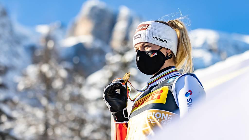 Lara Gut-Behrami gewinnt endlich Gold an Titelkämpfen
