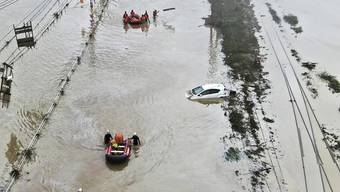 Die Unwetter in Japan haben bereits 22 Todesopfer gefordert.