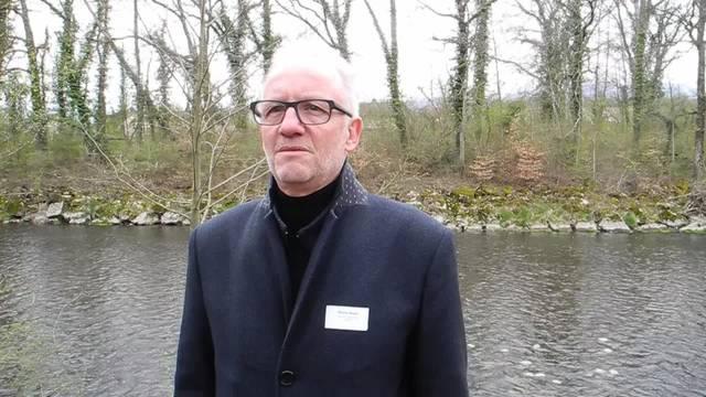 Gemeindepräsident Martin Blaser: «Biberist ist stark verbunden mit der Emme»
