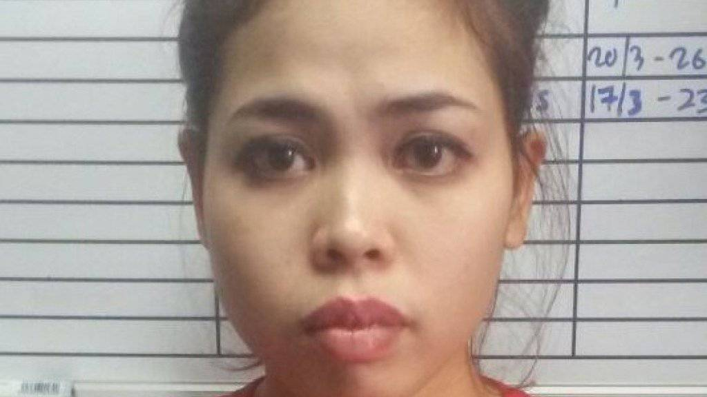 Diese ist eine der insgesamt vier Personen, die nach dem Attentat auf Kim Jong Nam verhaftet wurden. Die Indonesierin sagt, sie sei von einem Streich für eine Fernsehshow ausgegangen.