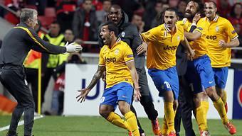 Carlos Tevez traf zum zwischenzeitlichen 1:1 für Juventus Turin