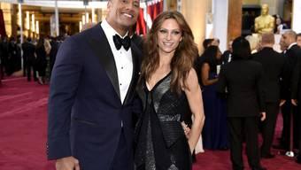 """Action-Held Dwayne """"The Rock"""" Johnson hat Lauren Hashian geheiratet. Das Paar ist einige Jahre zusammen und hat bereits zwei Töchter. (Archivbild)"""