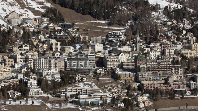Blick auf St. Moritz (Archiv)