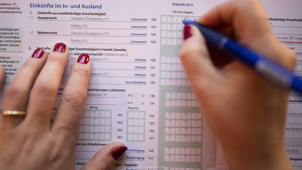 Nidwalden baut sein Steuerportal für 1 Million Franken aus
