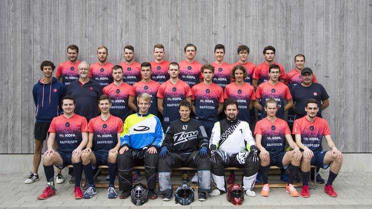 Teamfoto Herren1 Unihockey Fricktal, Saison 2020/21