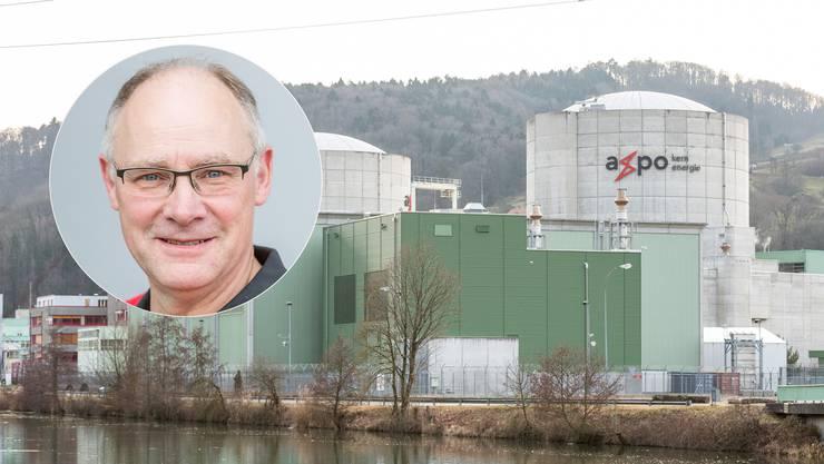 SVP-Nationalrat Hansjörg Knecht «Ein durch laufende Nachrüstungen auf dem Stand der Technik betriebenes Kernkraftwerk Beznau ist im Interesse der Region.»