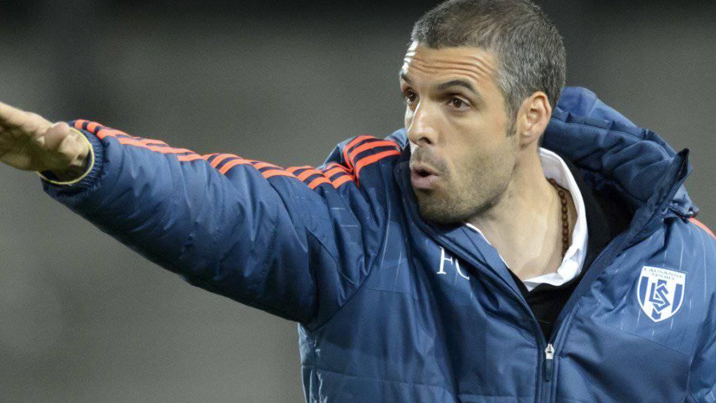 Lausanne-Sport, das Team von Trainer Fabio Celestini, wartet seit fünf Runden auf einen Sieg