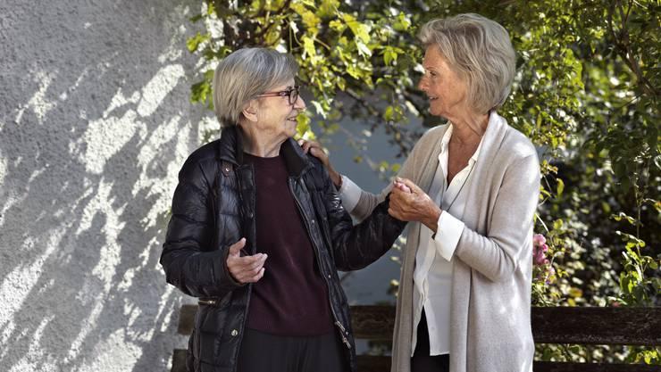 Als Bewegungscoach bereiten Sie einem älteren Menschen Freude und bringen Abwechslung in seinen Alltag