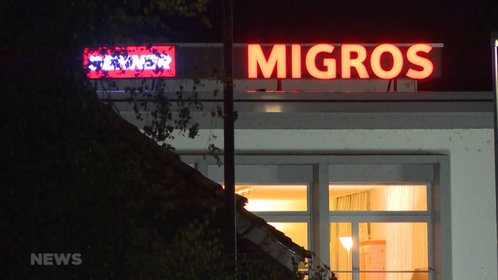 Kirchberg: Unbekannte Person überfällt Migros
