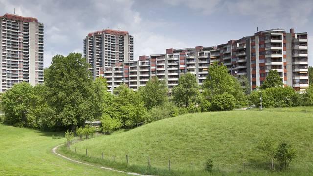 Die Gäbelbach-Siedlung am Stadtrand von Bern (Symbolbild)
