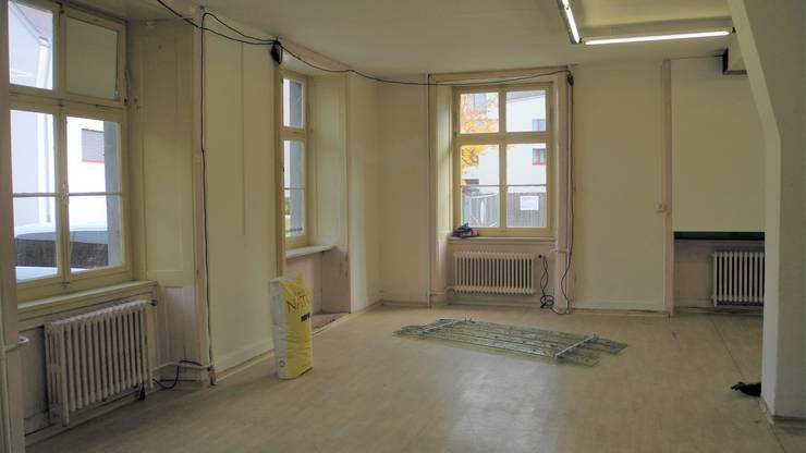 Das Alte Bauamt wurde in eine Kunstausstellung verwandelt.