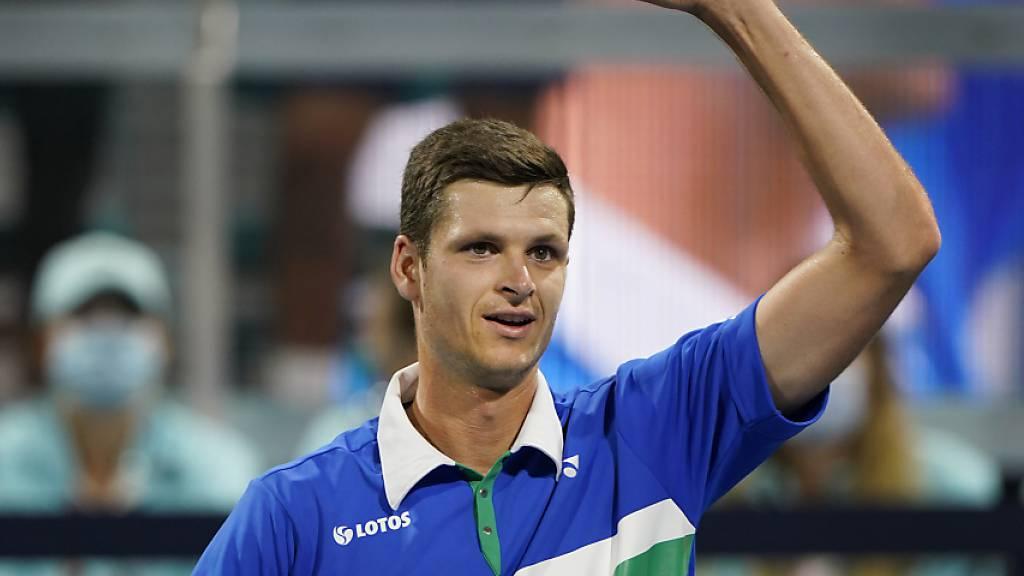 Grösster Erfolg seiner Karriere: Hubert Hurkacz triumphiert beim Turnier in Miami