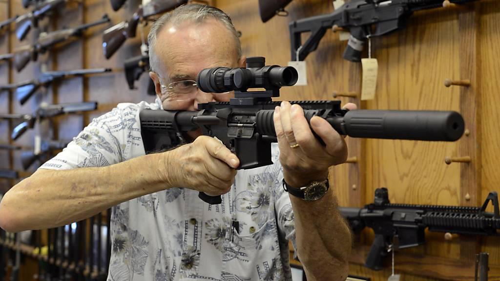 US-Waffenhersteller kündigt Ende für Sturmgewehr AR-15 an