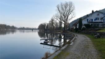 Der Mumpfer Rheinuferweg zwischen dem Turnplatz und dem Fährdepot wird auf einer Länge von rund 100 Metern leicht erhöht. Dies auch, um Überschwemmungen zu verhindern.