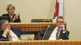 Am 1. November 2012 wurde Regierungsrat Peter Zwick im Landrat heftig kritisiert.