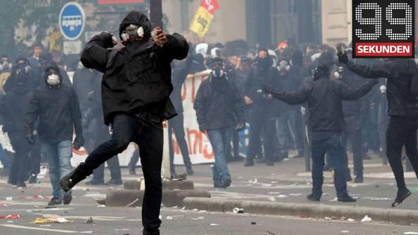 Chaoten wüten in Paris - Trump soll Unterlagen gestohlen haben