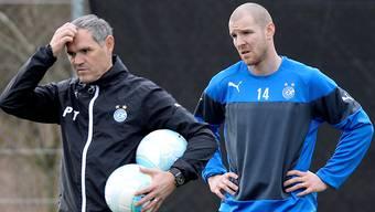 Noch herrscht Unwissen über den Formstand von Philippe Senderos – bei ihm selber und bei GC-Trainer Pierluigi Tami.
