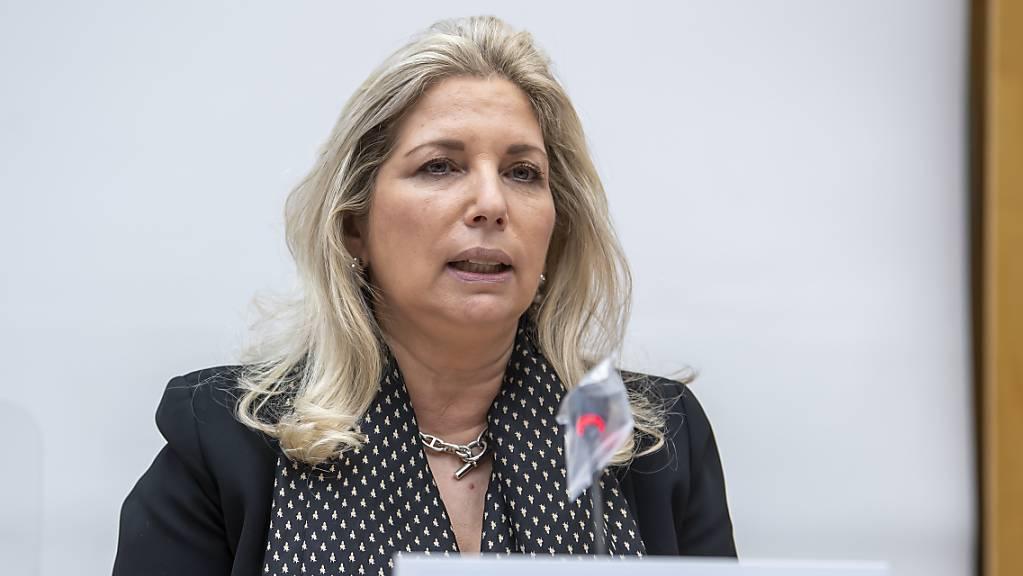 Die Genfer Finanzdirektorin Nathalie Fontanet (FDP) musste das defizitärste Budget präsentieren. (Archivbild)