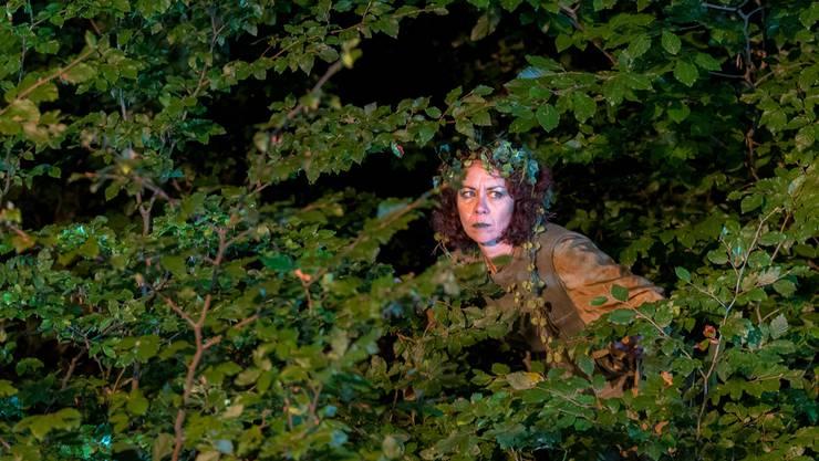 Am liebsten würden die Zuschauer das Müselifräuli im Wald suchen gehen. zvg