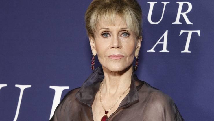 """Jane Fonda möchte, dass im Film auch ältere Menschen in Sex-Szenen zu sehen sind. """"So was sollte heute doch längst natürlich sein"""", sagte sie im Oktober 2017. (Archiv)"""