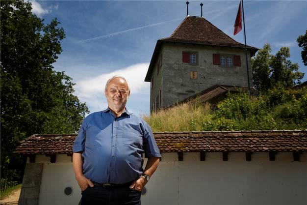 Robert Flückiger war Präsident der Stiftung «Schloss Buchegg» (Archiv)