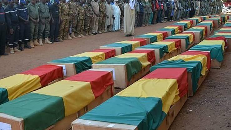 Im westafrikanischen Ländereck Mali-Burkina Faso-Niger kommt es immer wieder zu Terrorangriffen auf das Militär: Im November starben etwa in Mali 30 Soldaten. (Archivbild)