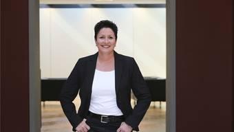 «Die breite Basis steht hinter mir»: Daniela Schneeberger vor dem Eingang zur Wandelhalle im Bundeshaus.