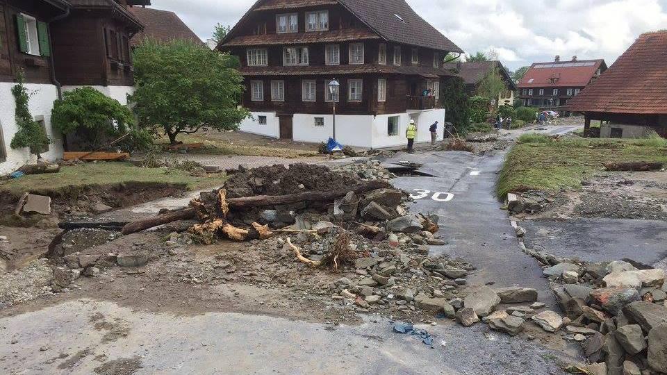 Hochwasserschutz in Dierikon ist einen Schritt weiter