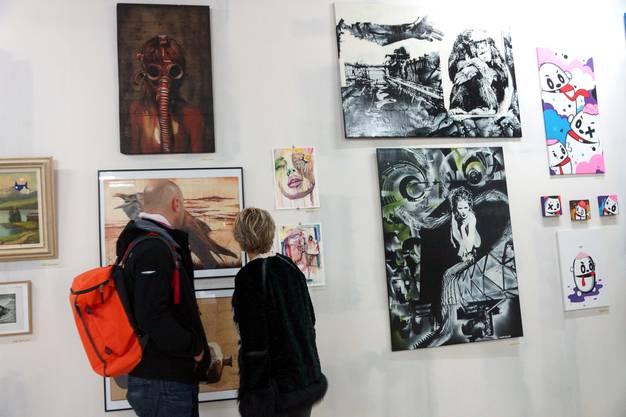 Die Ausstellung Streetart