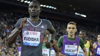 David Rudisha (ganz vorne) muss auf die WM-Teilnahme in London verzichten