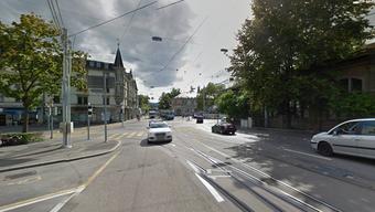 An der Kreuzung Hottingerstrasse/Rämistrasse ereignete sich der tragische Unfall.