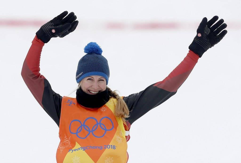 Fanny Smith gewinnt Bronze (© Keystone/EPA)