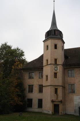 Der Treppenturm des Aarhofs